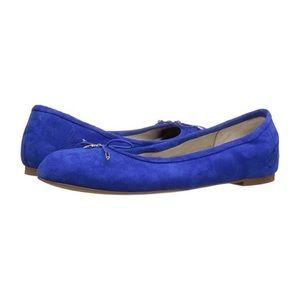 EUC Sam Edelman Felicia Royal Blue Flats 9.5M